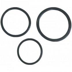 Pierścień-Thre cock rings bulk black