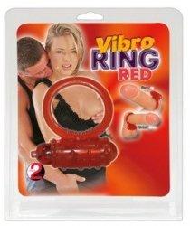 Pierścień-5643540000 Vibro Ring Red