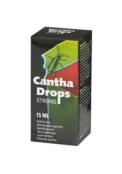 Hiszpańska Mucha -Cantha Drops Strong