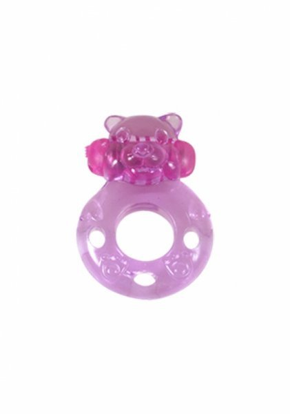 Pierścień-Wibrator - Ring. Bear. Func:1. Pink