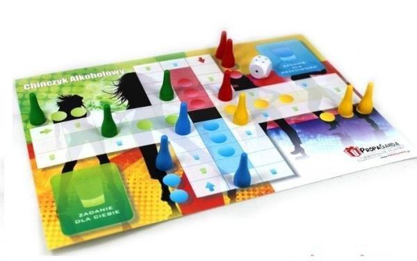 Gry-Gra ALKOCHIŃCZYK 3w1 - Zestaw 3 Gier Imprezowych