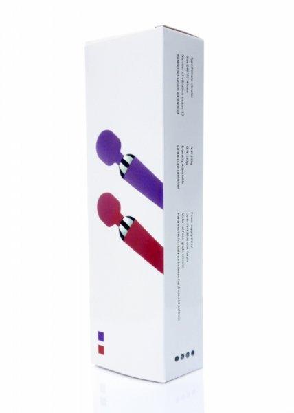 Stymulator-Power Massager Wand USB Purple 16 funkcji