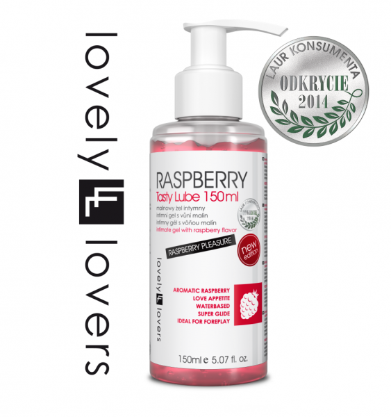 LOVELY LOVERS RASPBERRY Tasty Lube 150ml