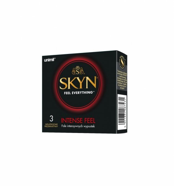 Unimil SKYN Intense Feel (1op./3szt.)