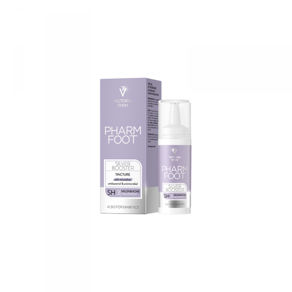 PHARM FOOT SILVER BOOSTER 15 ml - PFLASTER MIT MIKROSILBER