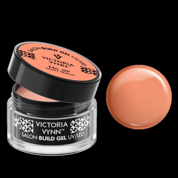 Build Gel 09 UV/LED Milky Peach 50ml