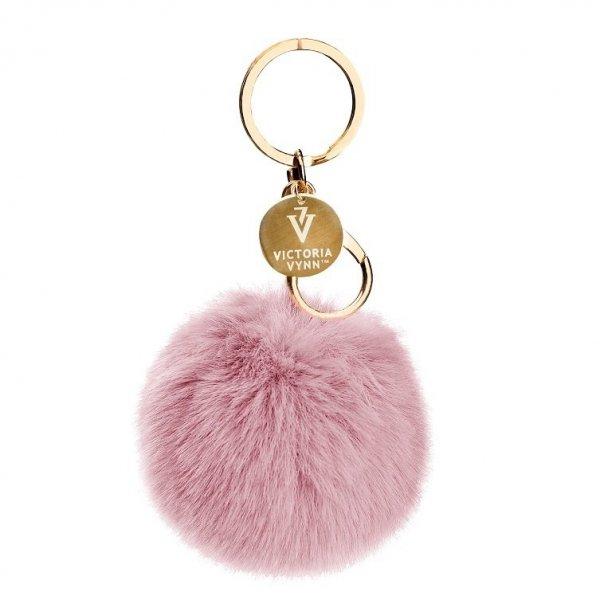 Kugel Pompon Keychain PINK