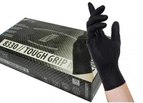 Nitryl-Handschuhe SCHWARZ Gr. M