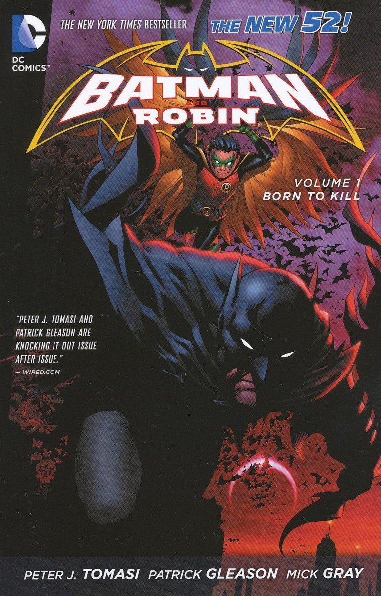 BATMAN AND ROBIN VOL 01 BORN TO KILL SC (Oferta ekspozycyjna)