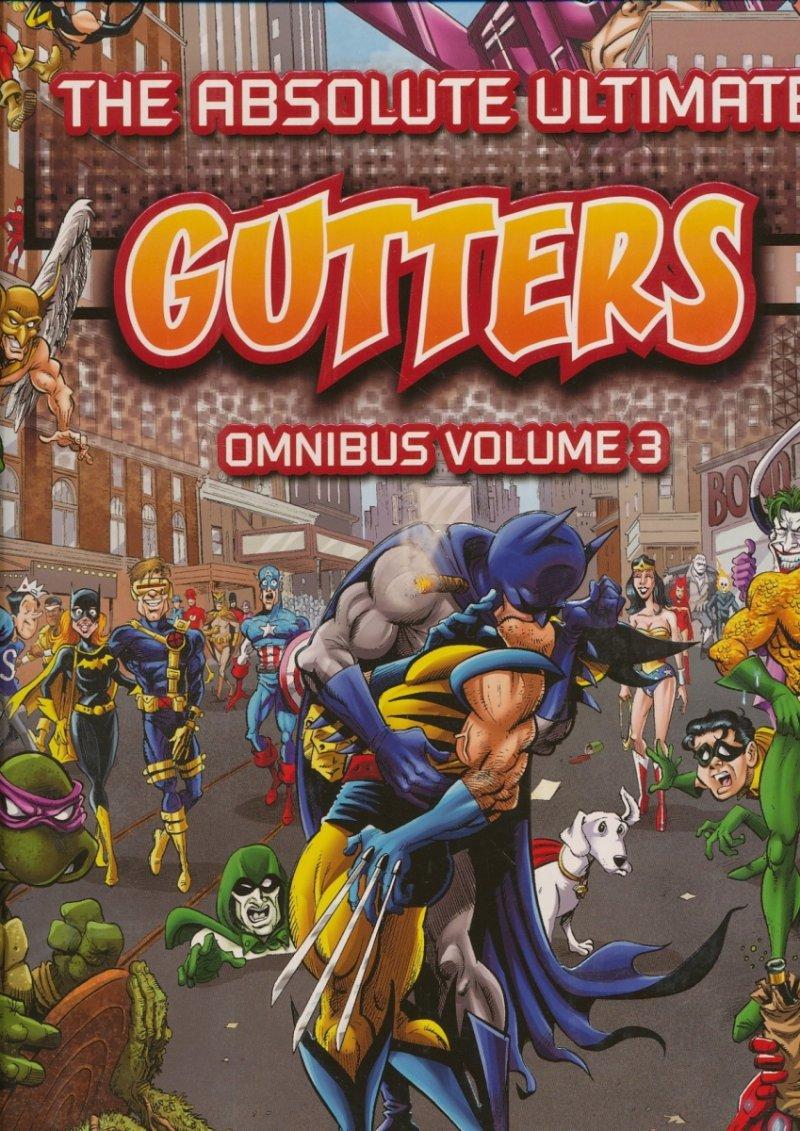 GUTTERS ABSOLUTE COMPLETE OMNIBUS HC VOL 03 (Oferta ekspozycyjna)