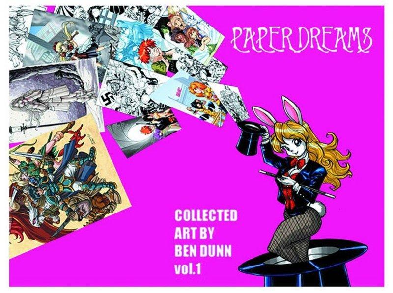 PAPER DREAMS BEN DUNN SKETCHBOOK TP VOL 01