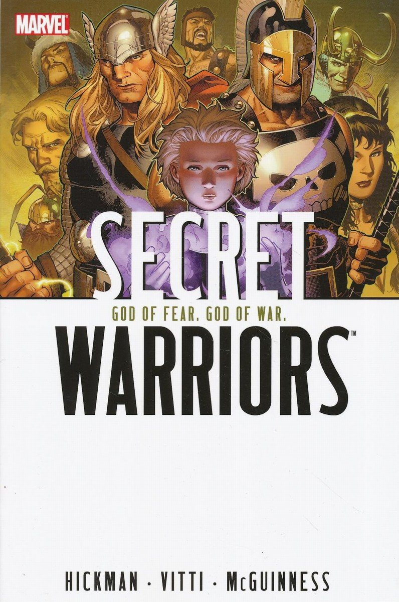 SECRET WARRIORS TP VOL 02 GOD OF FEAR GOD OF WAR (Oferta ekspozycyjna)