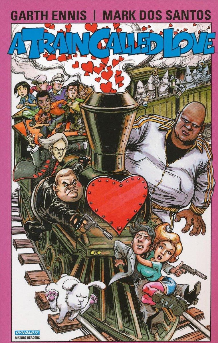 GARTH ENNIS TRAIN CALLED LOVE TP