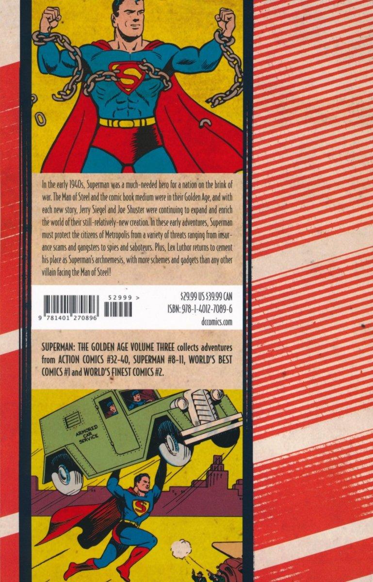 SUPERMAN THE GOLDEN AGE VOL 03 SC (Oferta ekspozycyjna)