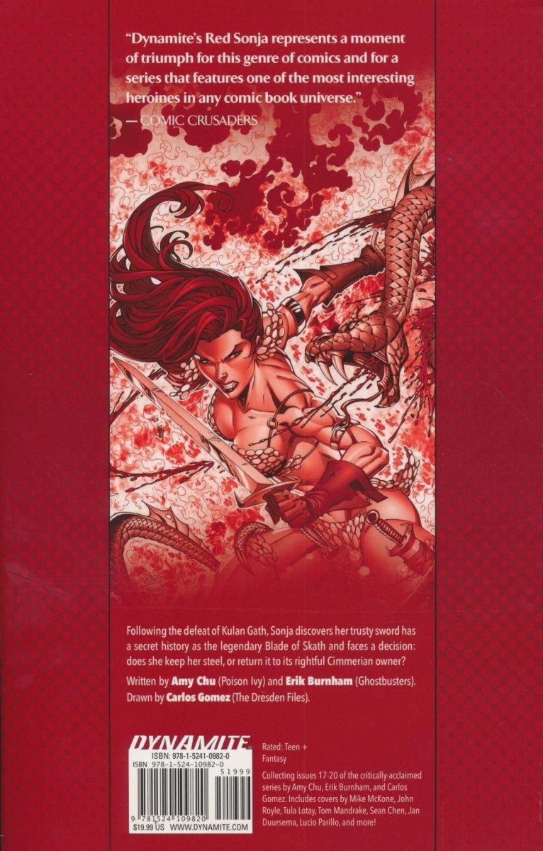 RED SONJA WORLDS AWAY TP VOL 04 BLADE SKATH (Oferta ekspozycyjna)
