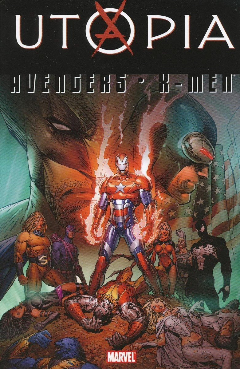 AVENGERS X-MEN UTOPIA TP (Oferta ekspozycyjna)