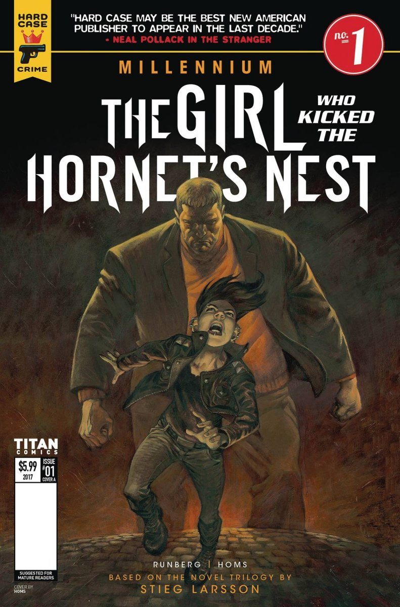MILLENNIUM GIRL WHO KICKED THE HORNETS NEST #1 CVR B BOOK VA