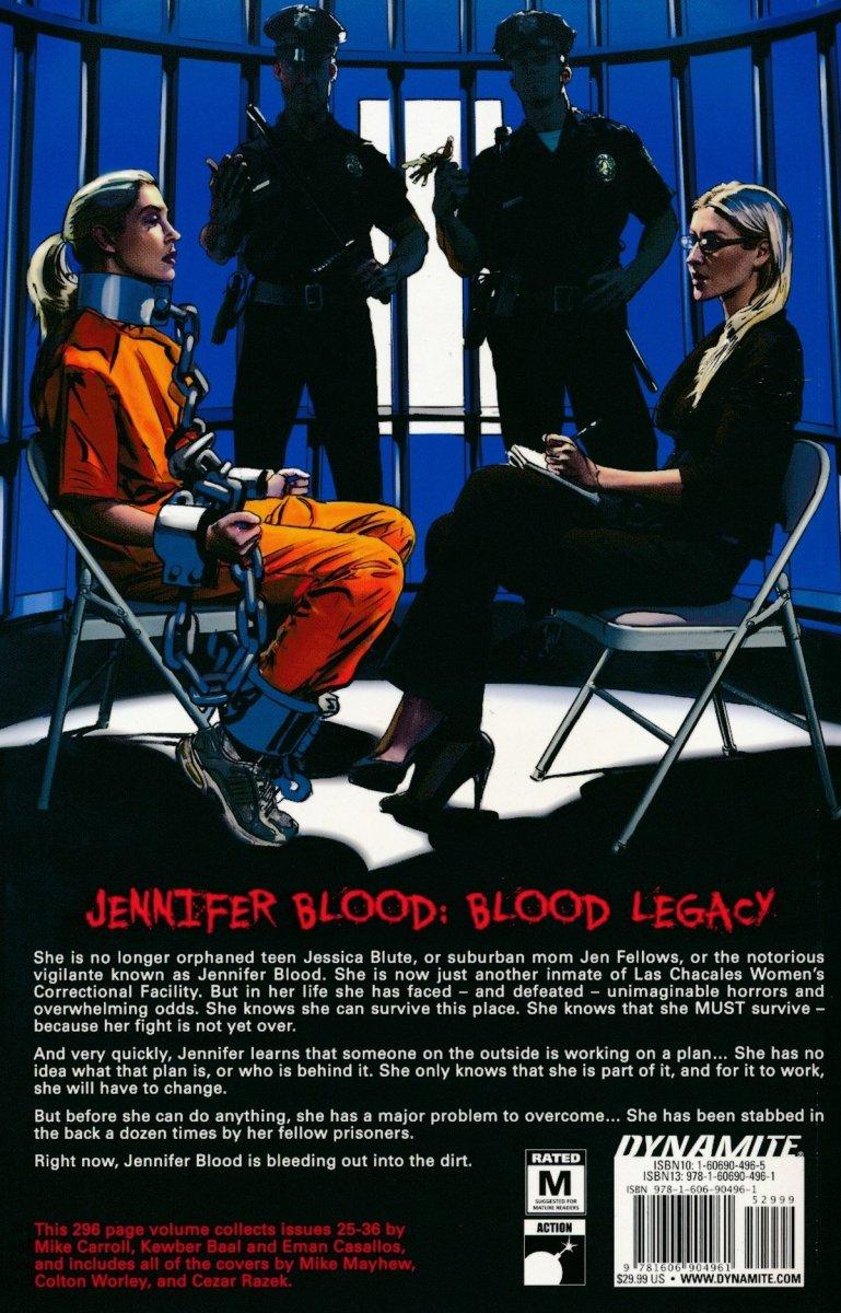 JENNIFER BLOOD TP VOL 05 BLOOD LEGACY (Oferta ekspozycyjna)
