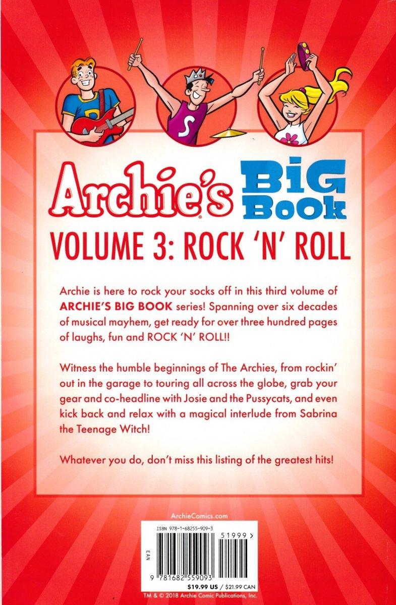 ARCHIES BIG BOOK VOL 03 ROCK N ROLL SC (Oferta ekspozycyjna)