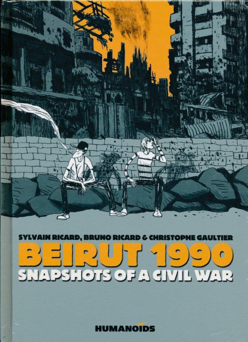 BEIRUT 1990 SNAPSHOTS OF A CIVIL WAR HC (Oferta ekspozycyjna)