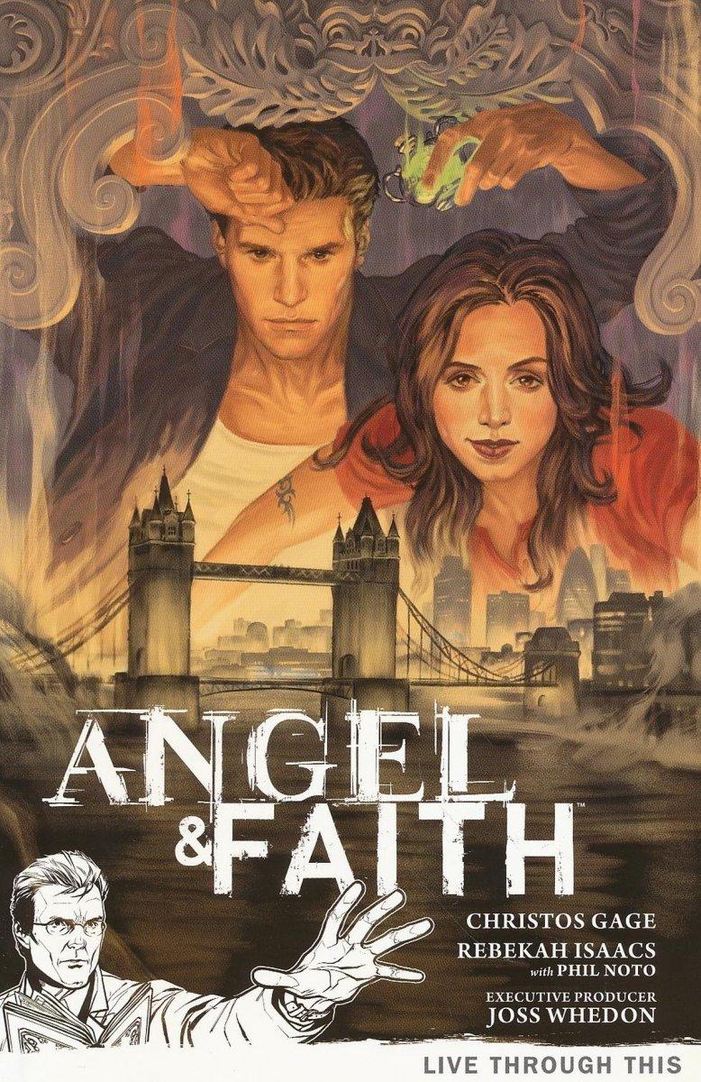 ANGEL & FAITH TP VOL 01 LIVE THROUGH THIS (Oferta ekspozycyjna)