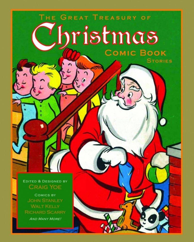 GREAT TREASURY OF CHRISTMAS COMIC BOOK STORIES HC