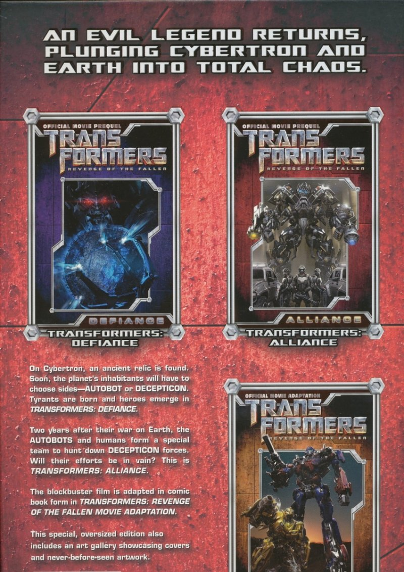 TRANSFORMERS MOVIE COLLECTION HC VOL 02 (Oferta ekspozycyjna)