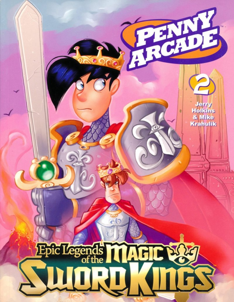 PENNY ARCADE TP VOL 02 LEGENDS MAGIC SWORD (Oferta ekspozycyjna)