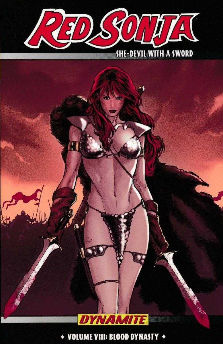 RED SONJA SHE DEVIL TP VOL 08 BLOOD DYNASTY (Oferta ekspozycyjna)