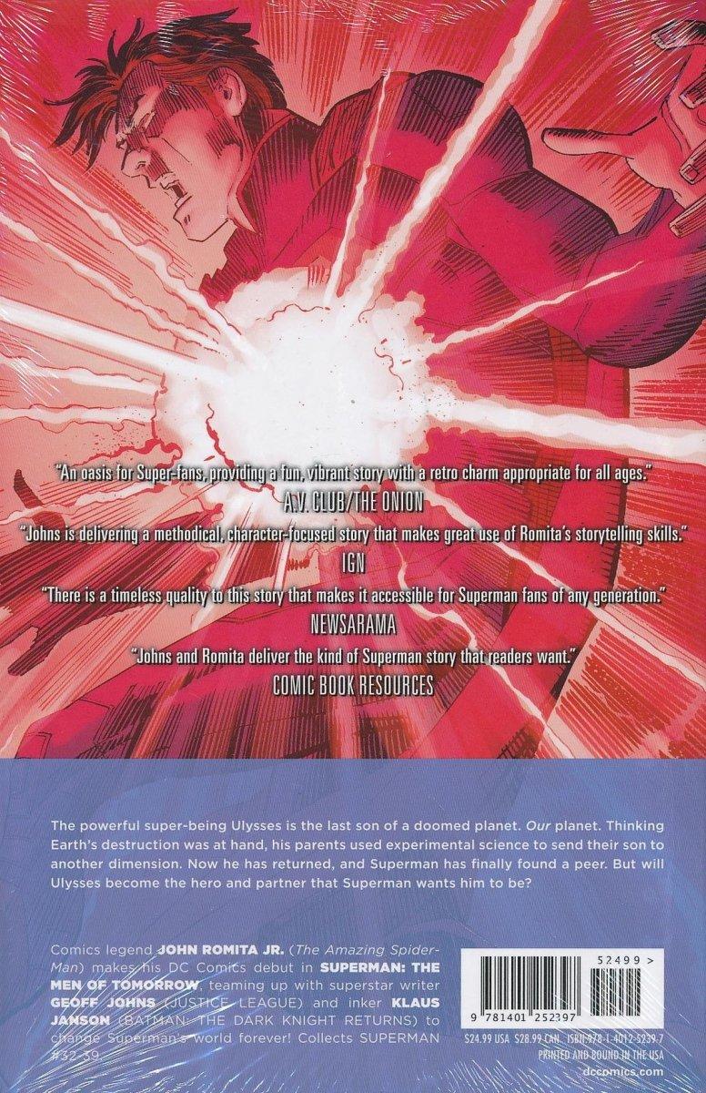 SUPERMAN THE MEN OF TOMORROW HC (Oferta ekspozycyjna)
