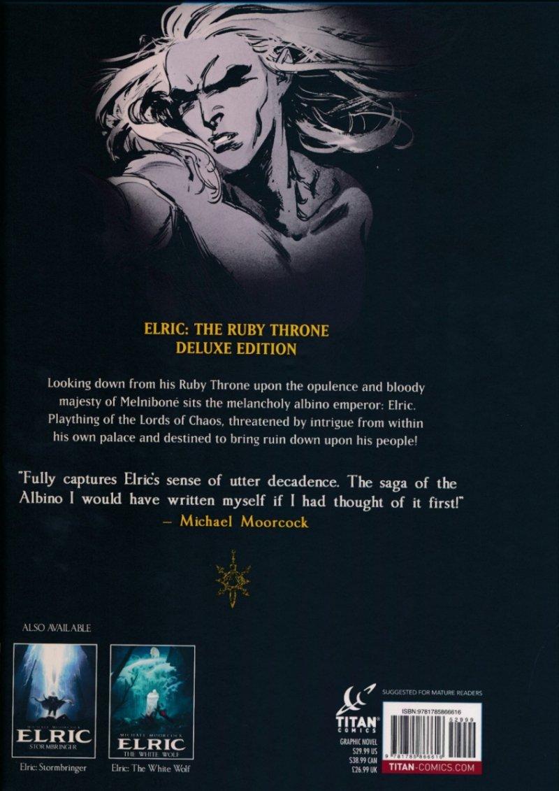 ELRIC THE RUBY THRONE HC (Oferta ekspozycyjna)