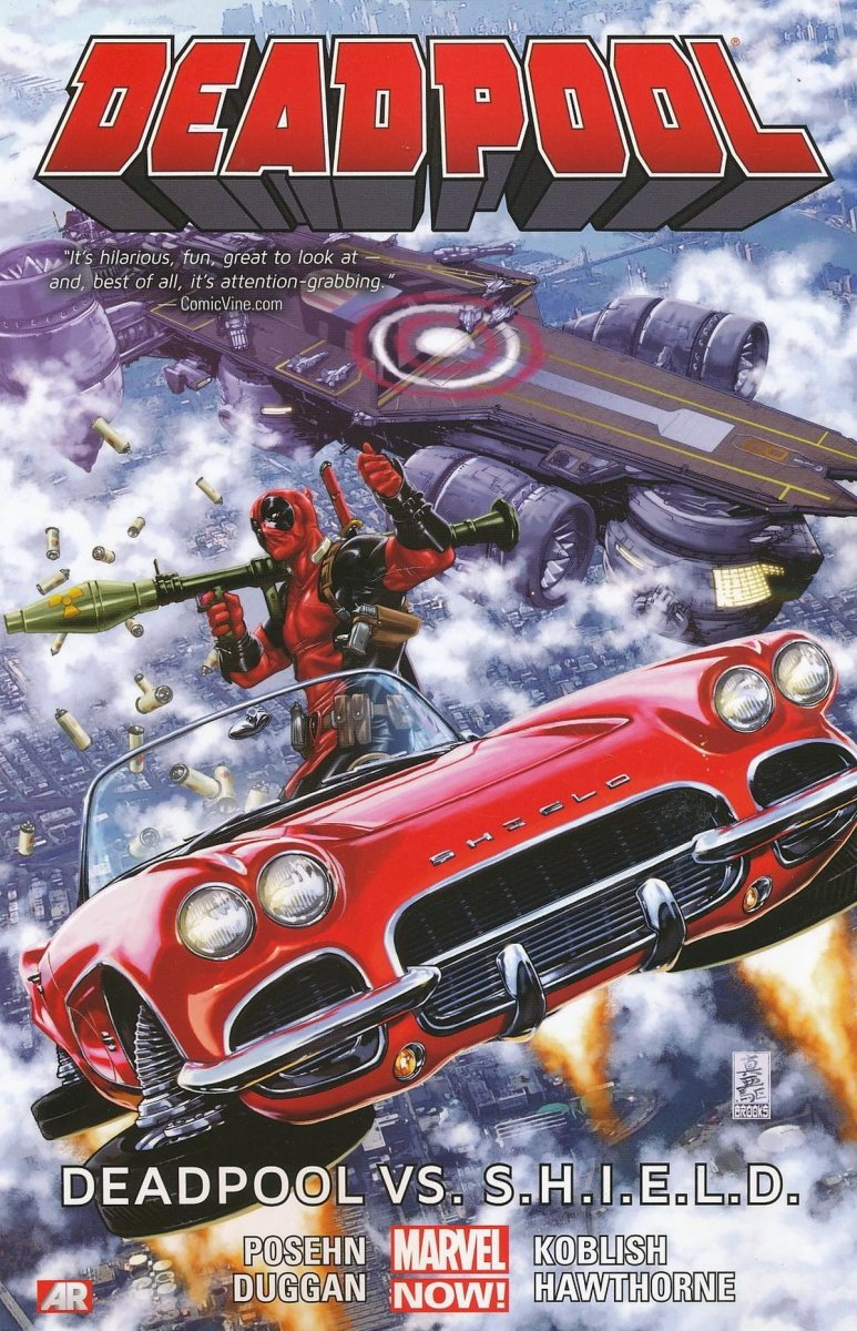 DEADPOOL TP VOL 04 DEADPOOL VS SHIELD NOW (Oferta ekspozycyjna)