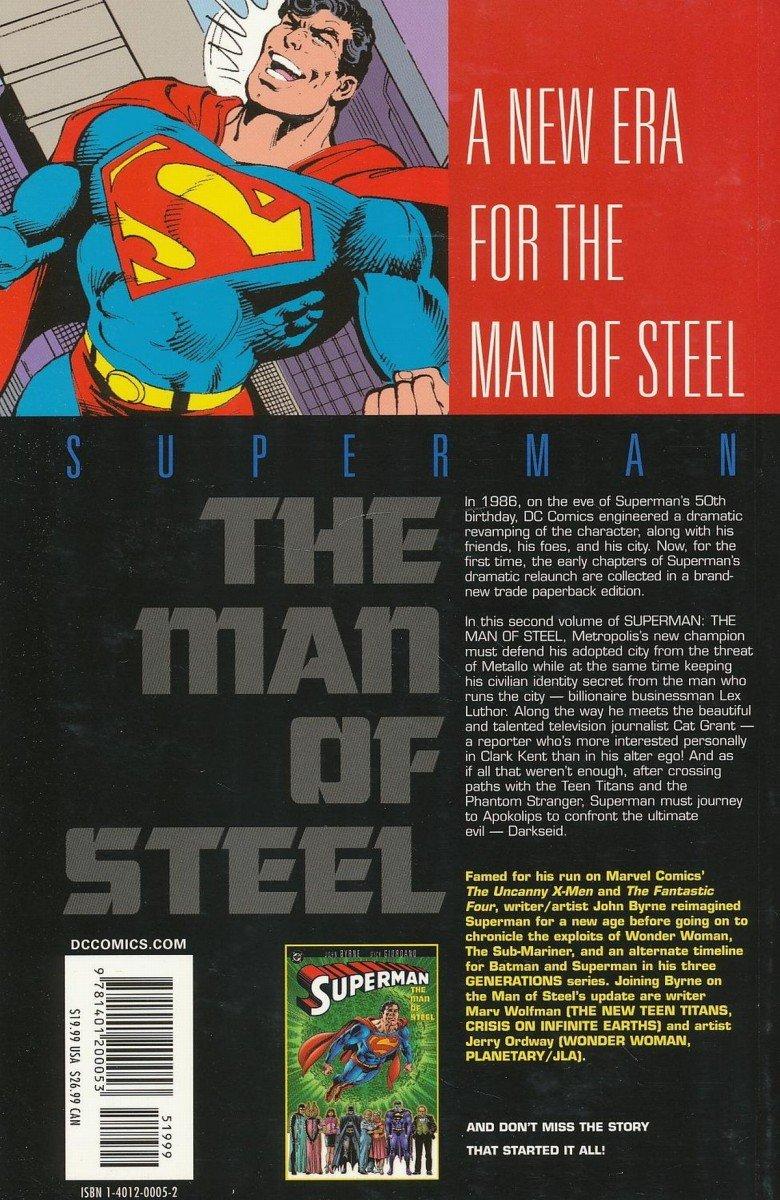 SUPERMAN THE MAN OF STEEL VOL 02 SC (Oferta ekspozycyjna)