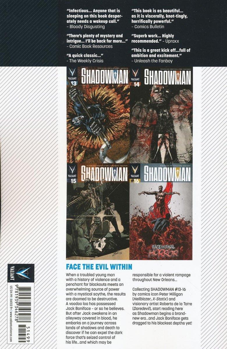 SHADOWMAN TP VOL 04 FEAR BLOOD SHADOWS (Oferta ekspozycyjna)
