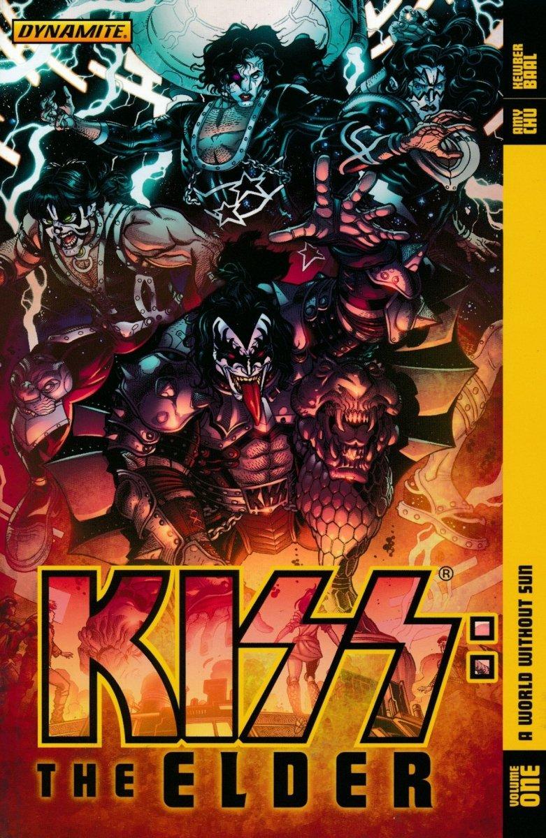 KISS THE ELDER TP VOL 01 WORLD WITHOUT SUN (Oferta ekspozycyjna)