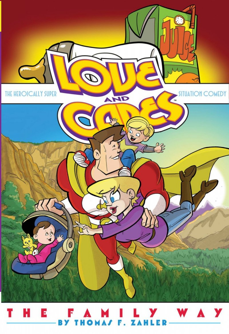 LOVE AND CAPES TP FAMILY WAY