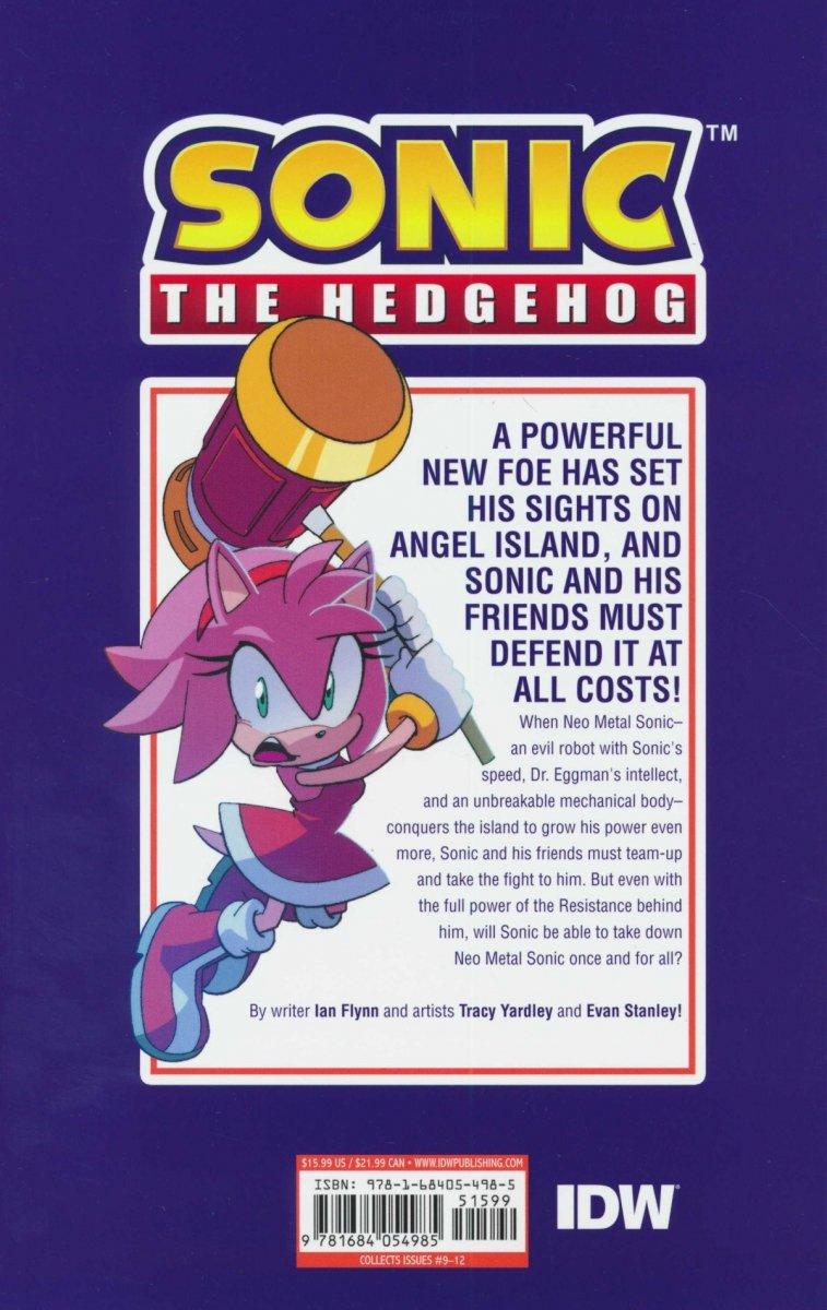 SONIC THE HEDGEHOG TP VOL 03 BATTLE FOR ANGEL ISLAND (Oferta ekspozycyjna)