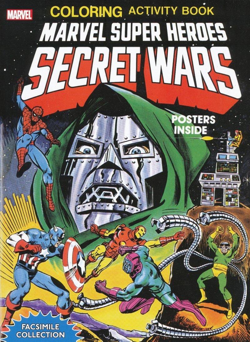 MARVEL SH SECRET WARS ACTIVITY BOOK FACSIMILE COLL TP (Oferta ekspozycyjna)