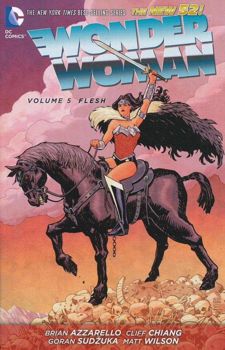 WONDER WOMAN VOL 05 FLESH SC (Oferta ekspozycyjna)