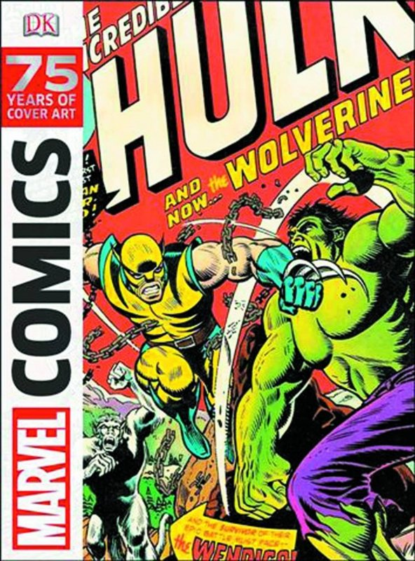 MARVEL COMICS COVER ART HC