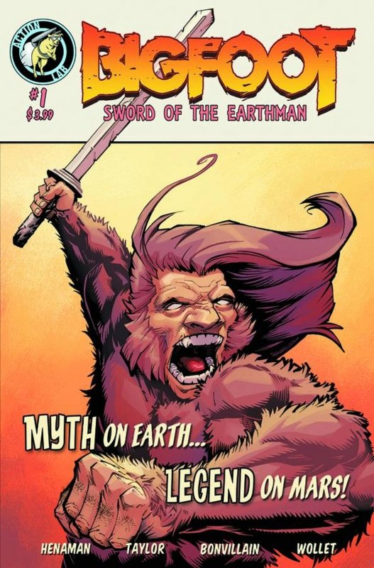 BIGFOOT SWORD OF THE EARTHMAN #1