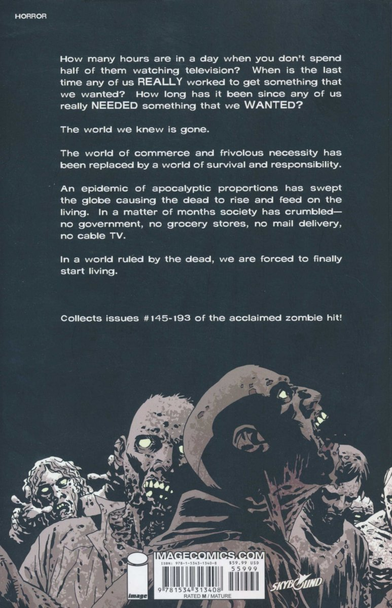 WALKING DEAD COMPENDIUM VOL 04 SC (Oferta ekspozycyjna)