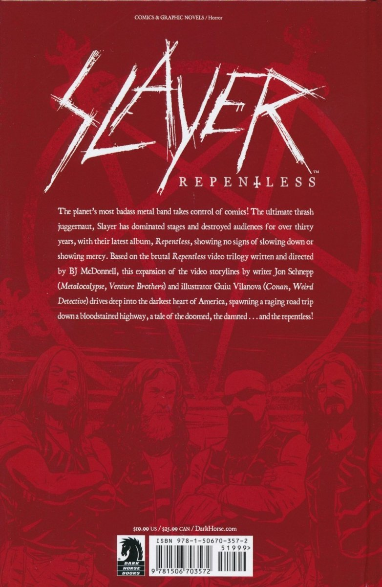SLAYER REPENTLESS HC (Oferta ekspozycyjna)