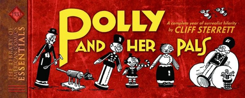 LOAC ESSENTIALS HC VOL 03 POLLY AND HER PALS 1933