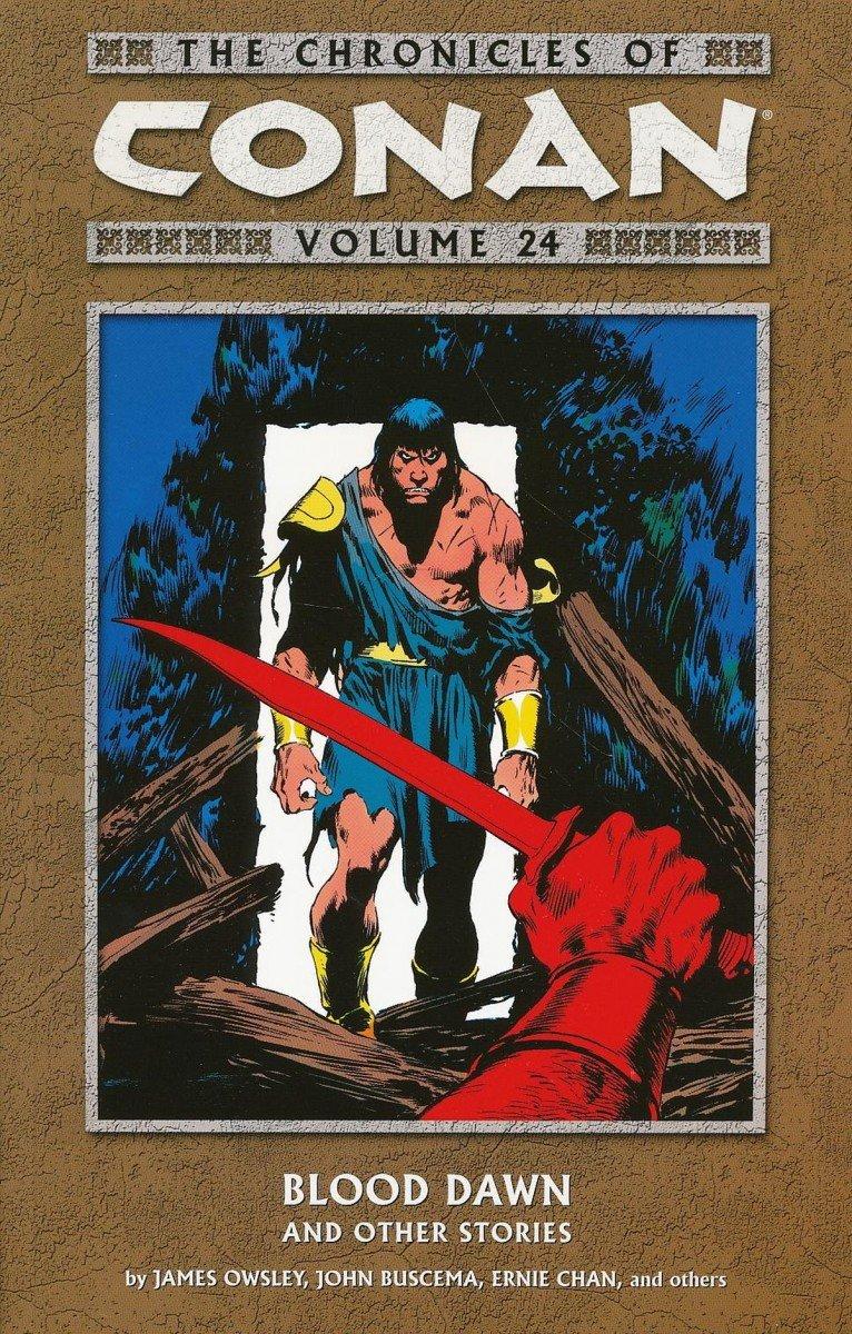 CHRONICLES OF CONAN TP VOL 24 BLOOD DAWN & OTHER STORIES (Oferta ekspozycyjna)