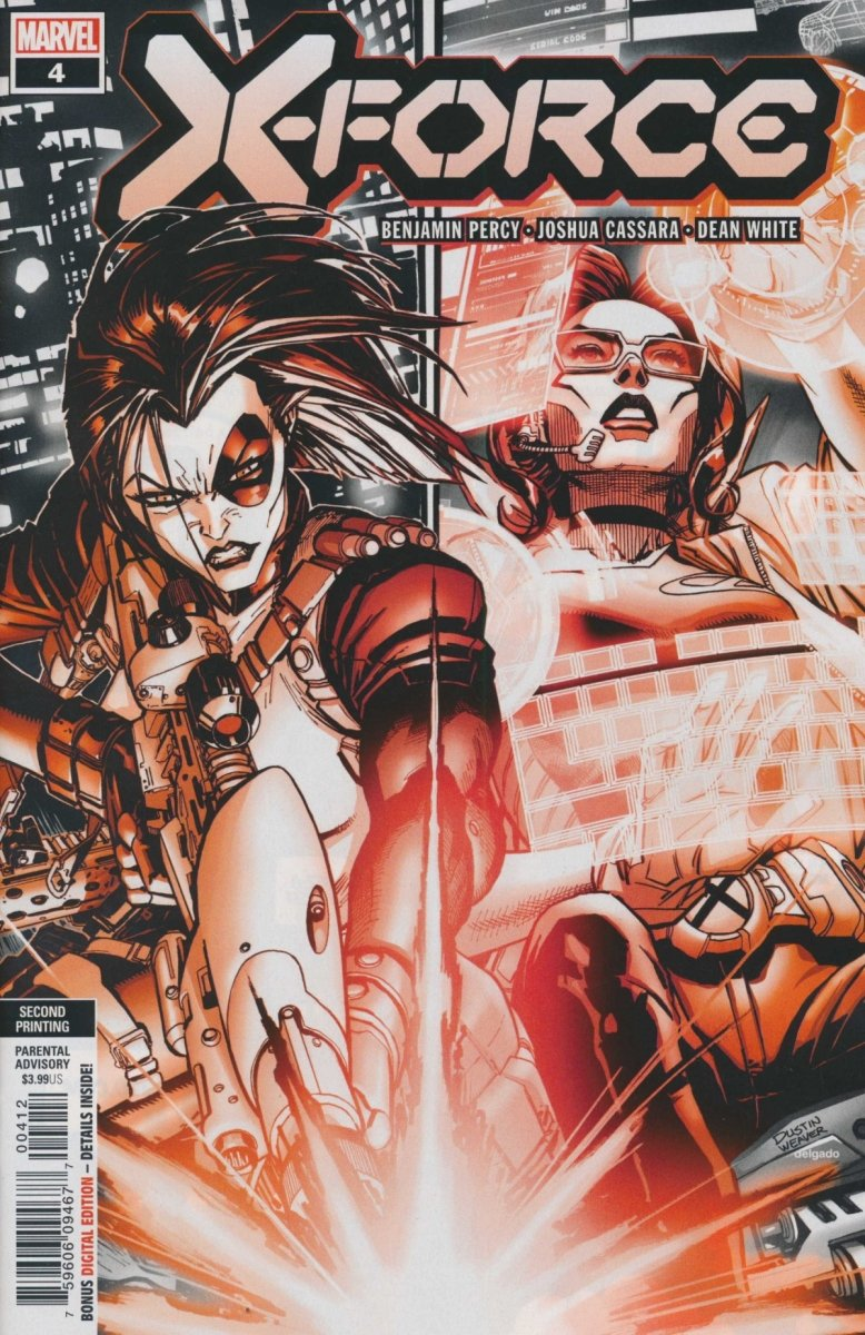 X-FORCE #4 2ND PTG