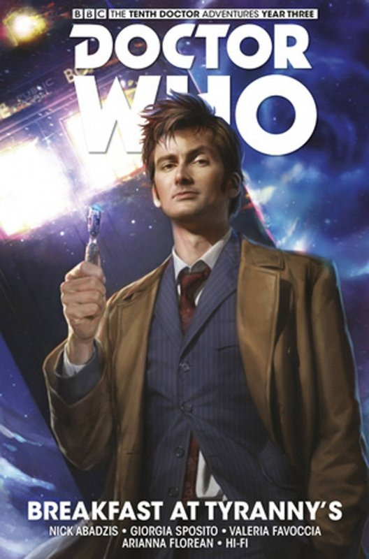 DOCTOR WHO 10TH FACING FATE HC VOL 01 BREAKFAST AT TYRANNYS