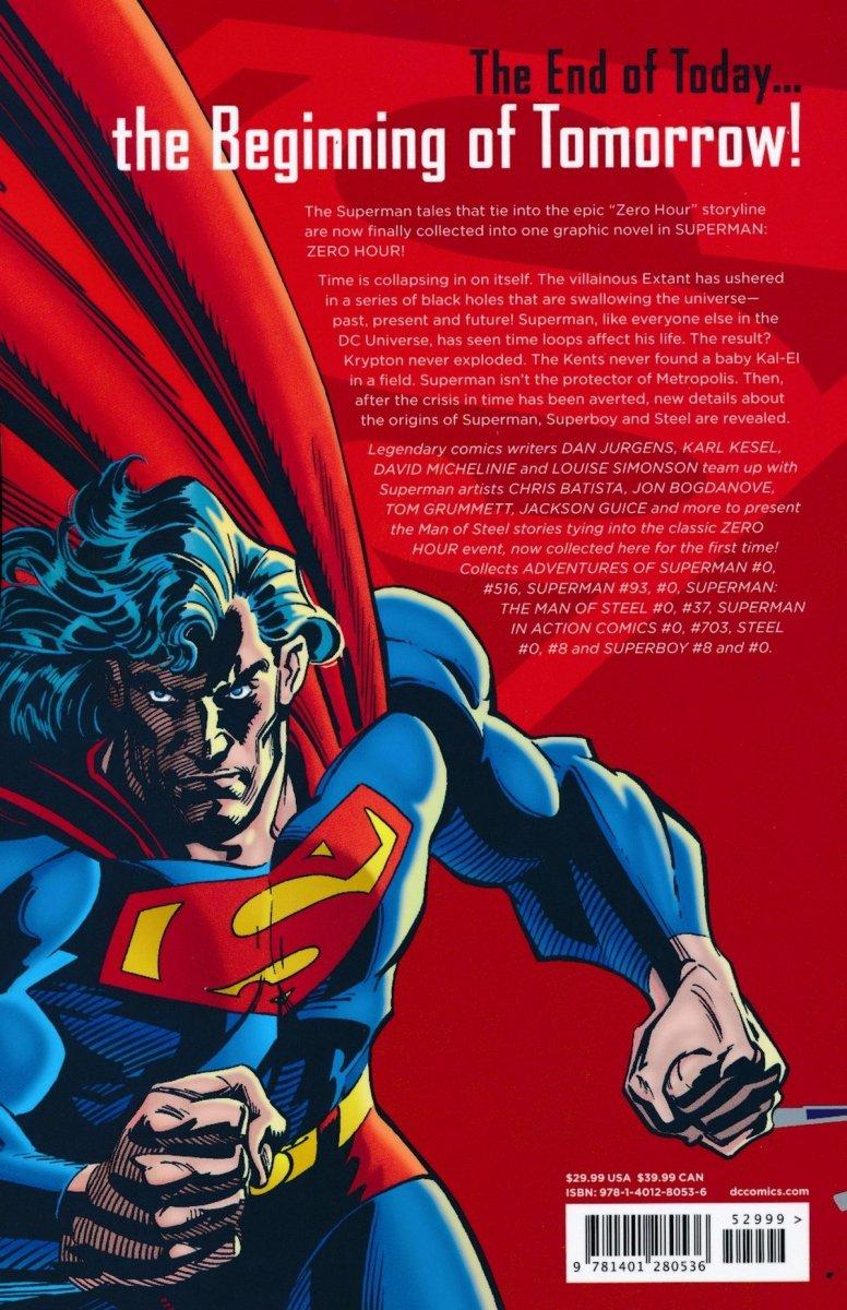 SUPERMAN ZERO HOUR SC (Oferta ekspozycyjna)