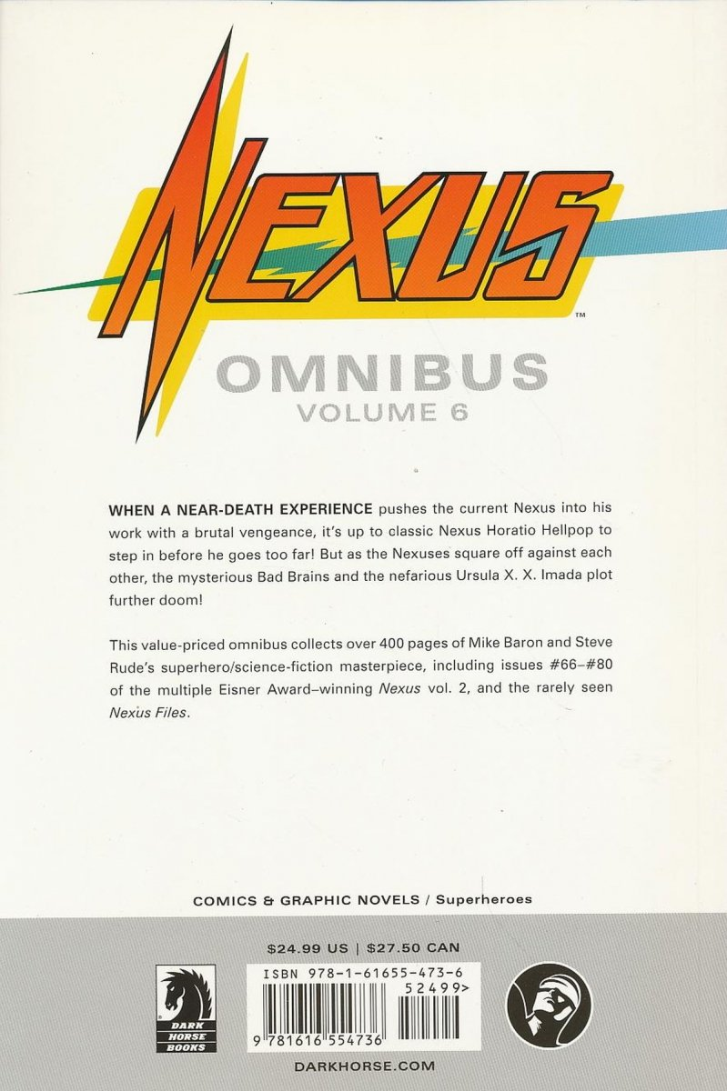 NEXUS OMNIBUS TP VOL 06