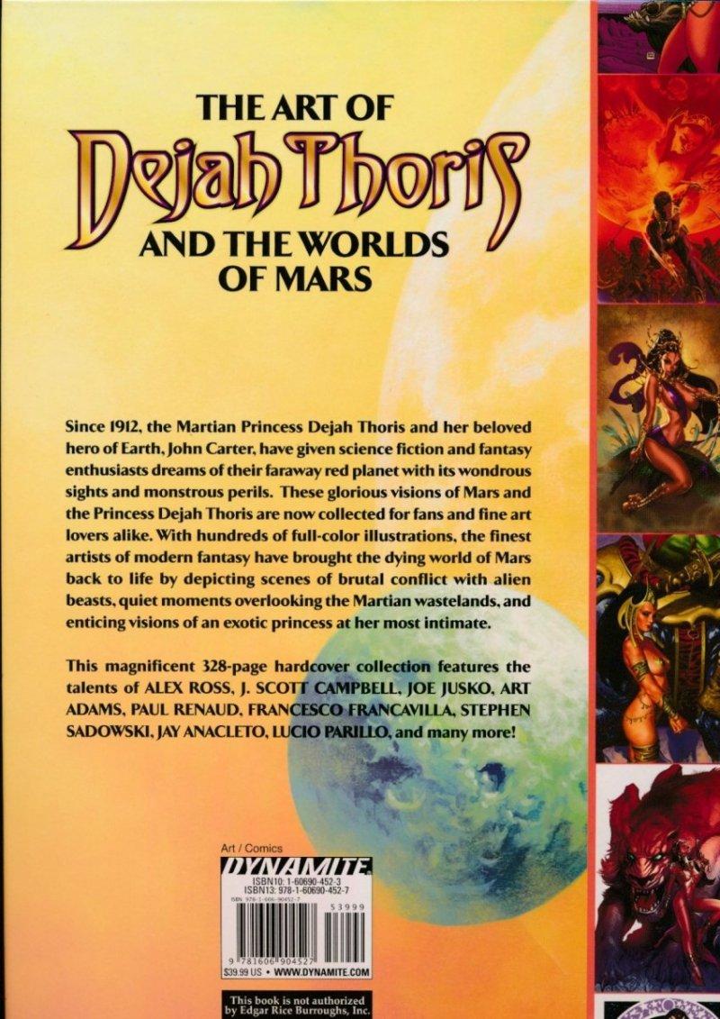ART OF DEJAH THORIS & THE WORLDS OF MARS HC VOL 01